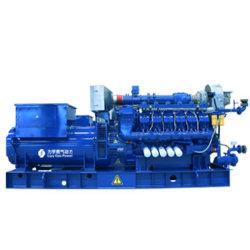 Liyu 1000kw 저가 고전압 10.5kv 천연 가스 엔진 발전기 세트