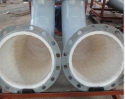 전력, 야금술, 광업, 석탄, 화학 공업에 사용되는 Zibo Wear-Resistant 반토 세라믹 굴곡