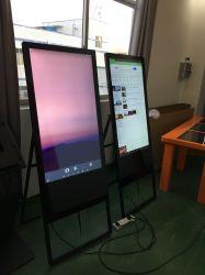 Monitor de ecrã anúncios de sinalização digital LCD portátil Modelo 32 Polegadas Publicidade Casas Player Suporte de parede de Vídeo Digital Signage LCD