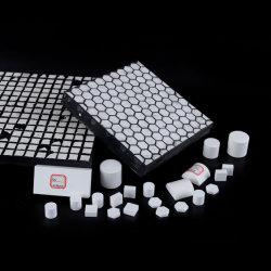 Résistant à l'usure Anti Panneau d'impact faite par l'alumine doublure en céramique