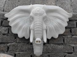 Home/décoration murale Sculpture sur Marbre éléphant