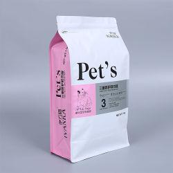 De Folie van het aluminium met de Zij Verpakkende Zak van het Voedsel voor huisdieren van de Hoekplaat
