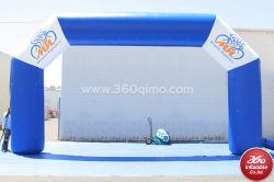 広告inflatablesのカスタマイズされた空気競争の膨脹可能なアーチ、ディスコ展覧会ショーの膨脹可能な広告をを広告する高品質