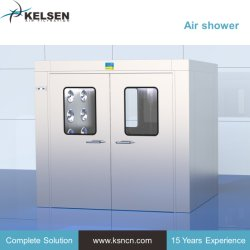 청정실 자가 HEPA 필터에 의하여 갖춰지는 공기 샤워 룸