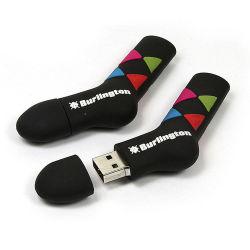 OEM ODM 1GB 2GO 4 GO 8 GO de 16Go et 32 Go à 64 Go de vêtements en PVC Forme personnalisée Pendrive USB Lecteur Flash USB avec logo