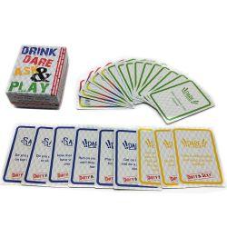 Stampante istantanea bevente di carta su ordinazione delle schede di gioco del casinò di Pokermon delle schede del gioco di partito
