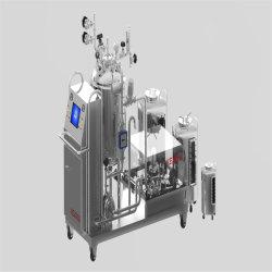 Le mélange de liquide de stockage en acier inoxydable de poudre lyophilisée pour système de mélange d'injection