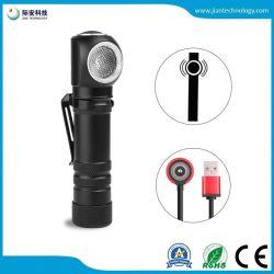 Nouvel ordinateur portable Lampe de poche LED Xhp50 Batterie intégrée Lampe de projecteur de charge magnétique