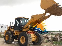 Verwendetes Rad-Ladevorrichtungs-Gleiskettenfahrzeug 966h Payloader der Katze-966h für Aufbau