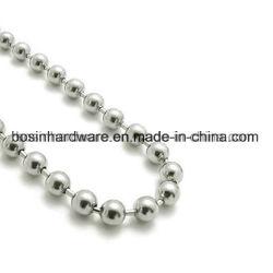 1.5Mm de haute qualité de la chaîne de perles de métal