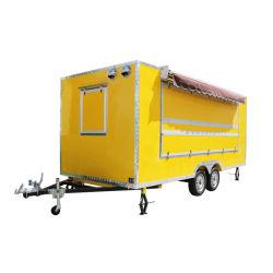 جوز هند ماء البيع مقطورة/متحرّك [لمون جويس] عربة