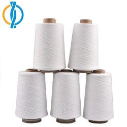 Ruw Wit Kleur Geregenereerd Garen 50% Katoen 50% die Polyester voor het Weven van Stoffen wordt gemengd