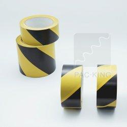 Heat-Resistant/imperméable//sur mesure colorés/PVC pour l'identification de bandes de marquage au sol et de la protection dans le sol