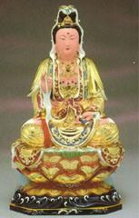 Carving-Kuan Yin Bouddha Bouddha en bois