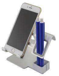 Stand pliable réglable multi de téléphone cellulaire de tablette en métal de support de bureau d'alliage d'aluminium de la cornière 2017