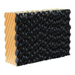 Recubierto de papel negro almohadilla de refrigeración