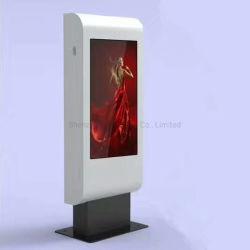 E-Fluence 55inch LCDスクリーンの表示を広告するための人間の特徴をもつハードウェアのバス停