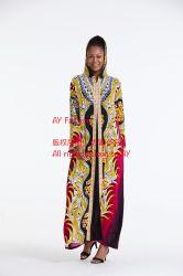 عينة جديدة مع سعر جيّدة طويلة ثوب [إيسميك] إمرأة لباس