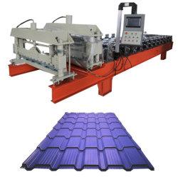 Máquina de Fabricación de azulejos paso de la formación de la hoja de vidrio laminado de techos de arco con el equipo de bajo precio