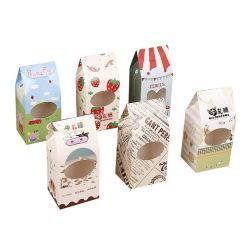 Высокая производительность печати CMYK торт Candie продовольственной упаковочные ящики бумаги
