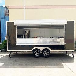 De volledig Uitgeruste Mobiele Vrachtwagen van de Keuken van het Voedsel van de Fabrikant van de Kar van het Voedsel van Venta Engelse de V.S. van de Vrachtwagens van de Concessie van het Snelle Voedsel Trailer Burger Van Street Food Openlucht Mobiele voor Verkoop