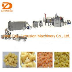 Completamente automática de 500 kg/h en 2D 3D continua Slanty Snack Pellet fichas haciendo de la extrusora línea de maquinaria China Proveedor
