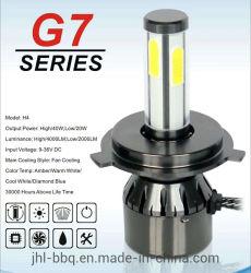 G7 без вентилятора Auto HID лампы фар автомобиля лампы фар с помощью светодиодной лампы 12V 48 Вт*2 светодиоднаялампа фарыH4, H7, H8, H9, H11 9005 9006 и HID 880 35W 55W