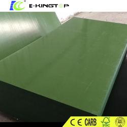 カスタマイズされたプラスチックフィルムの表面Plywood/PVCは合板に直面した