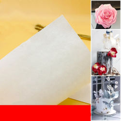 0.22mm는 0.3mm 0.4mm 0.6mm 1mm 초콜렛 케이크 훈장 열전달 초콜렛 종이를 를 위한 주문 설계한다