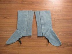Entfachen, ledernes Schweißens-schützenden lederne Schuh-Fuss-Deckel zurückschiebend