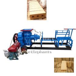 Kleines manuelles des Lehm-SD-220/250 Vakuumbewegliche Lehm-Ziegeleimaschine-Lehm-Ziegelstein-Extruder-Maschine nicht