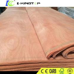 Niedriger Preis natürliches Okoume Holz-Furnier-Blatt