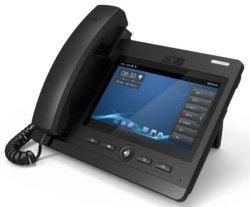 SIP VoIP Téléphone IP Vidéo d'écran tactile de téléphone de bureau de l'hôtel