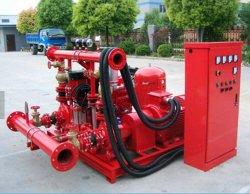 UL упакованных пожарный насос, электродвигатель пожарный насос+дизельного двигателя пожарный насос+Жокей насос, Edj пакет пожарного насоса