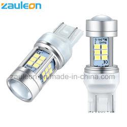 Светодиодный индикатор Auto T20 7443 W21/5W белый DRL лампы заднего хода лампа резервного копирования