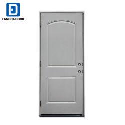 Fangda Stahl-Außentür, angestrichen mit grundierter weißer Stahltür-Haut