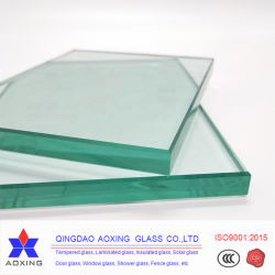 Fabricado en China Arte transparente templado cristal decorativo Windows