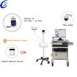 20 قناة الجهاز الطبي المحمول EEG، نظام Bluetooth EEG اللاسلكي