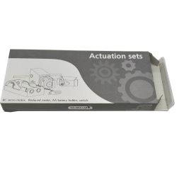 La impresión de color personalizadas de papel ondulado caja de embalaje