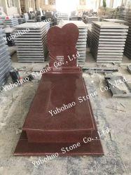 Het Indische Rode/Europese/Russische/Amerikaanse Graniet van de Stijl/Marmeren Grafsteen met het Ontwerp van de Douane
