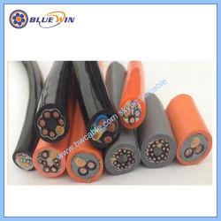 Del bobinado del motor eléctrico de cable del motor de alambre, cable eléctrico cable eléctrico de control de resistente al aceite