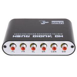 Digital Audio Decoder 5.1 CH Декодер цифрового аудио SPDIF коаксиальный Dts Dts AC3/AC-3 до 5.1 Аналоговые в стиле Арт Деко
