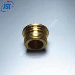 Protezione d'ottone lavorante del filetto delle parti adatte dell'ottone dell'ottone di precisione di CNC