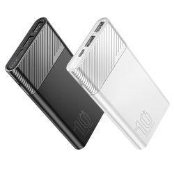 Новые поступления портативных мобильных зарядное устройство аккумулятора Ультратонкий Легкий универсальный 10000mAh Power Банка