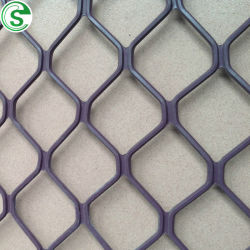 De Aluminio recubierto de polvo de diamante de malla de metal expandido de la parrilla de la puerta de la ventana