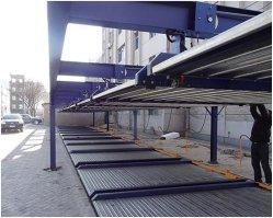 Lift-Sliding механического оборудования стоянки на стальные конструкции