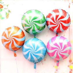De Ballon van de Folie van het Suikergoed van de Ballon van het Aluminium van de Windmolen van het Riet van het suikergoed