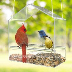 Mayorista Yyb acrílico transparente de alta calidad creativa de la casa de aves