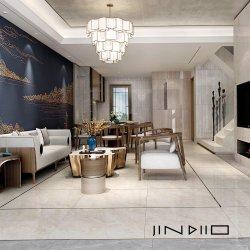 Керамические фарфора этаже стены остекленной гостиной белые мраморные плитки от Фошана заводской сборки