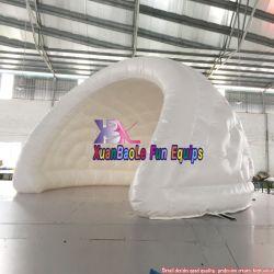 ハーフムーンパーティ膨張式テント( LED ライト / ショー / パーティ / ウェディング照明付き 膨張式ハーフムーンテント